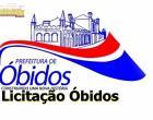 Prefeitura de Óbidos divulga editais de licitações para as áreas de educação e saúde