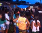 Suspeito de assalto, recebe a guarnição da Polícia Militar a bala no bairro da Cidade Nova em Oriximiná.