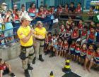 Na escola Manoel Valente do Couto em Óbidos no dia do Transito, foi bastante movimentado muita educação e brincadeiras