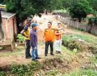 Representantes da 4º Redec visitam áreas de risco em Óbidos