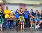 Em Manaus quem fez aniversário e chamou os amigos e conterrâneos foi Dr. Daniel Vasconcelos. O encontro foi na Mansão Timbiras