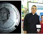 Padre, Sidney Augusto Cantos recebeu a Medalha de Mérito Cultural Wilson Fonseca em Santarém