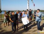 Jovens da comunidade Arapucú participam de curso de pedreiro ofertado pelo SENAI
