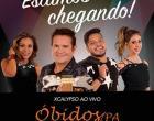 Ximbinha e banda XCalypso fazem show em Óbidos no dia 26 de julho