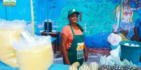 Com apoio da prefeitura de Oriximiná e SEBRAE, pequeno produtores ganham espaço para comercializar seus produtos.