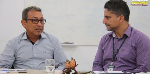 Em reunião prefeito de Óbidos e reitor da UFOPA discutem formas de desenvolver ações que tragam benefícios a cidade.