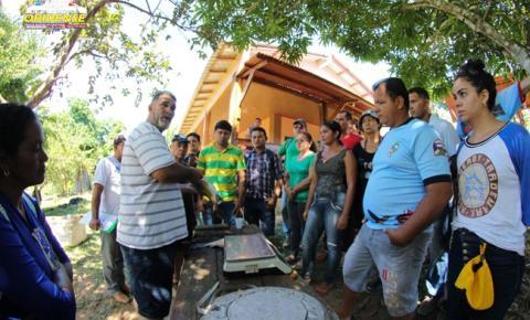 SEMAB promove curso de capacitação para desenvolver a piscicultura em Óbidos-PA