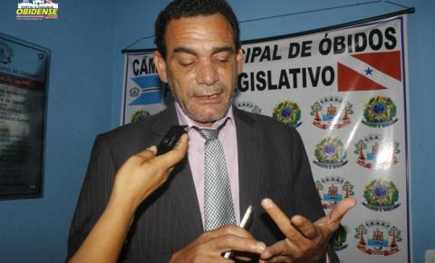 Presidente da câmera de vereadores de Óbidos cobra prestação de contas de R$ 900 mil reais, recebido do ICMS Verde.