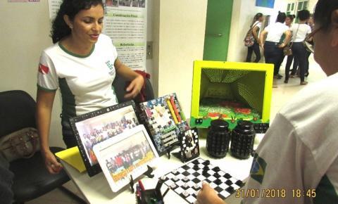 Alunos do Instituto Federal do Pará (IFPA), apresentaram seus projetos na II Semana Integradora no município de Óbidos.