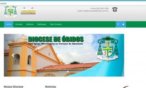 Setor Diocesano de Comunicação Midiática (SEDCOM), lançou oficialmente o site da entidade