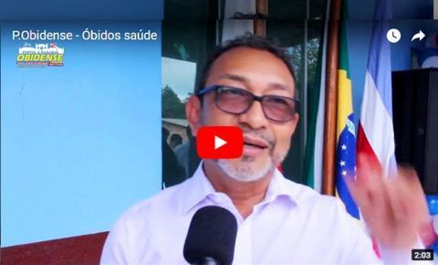 Prefeitura de Óbidos inaugura UBS na comunidade do Igarapé Açú.