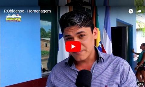 Filho de dona Risete Venâncio fala sobre a homenagem para a sua mãe.