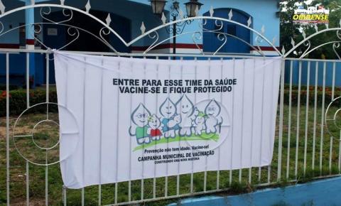 Campanha Nacional de Vacinação contra a gripe foi prorrogada até o dia 15 de junho