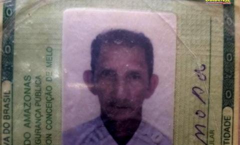 Família procura seu José Maria Mota de 68 anos de idade que está desaparecido desde o dia 10 de junho em Oriximiná