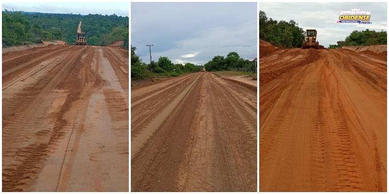 Estrada de acesso - Sucuriju, Arapucu e Curumu