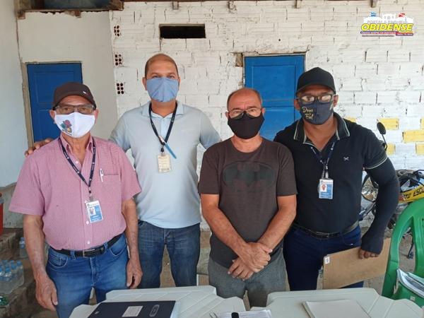 Equipe do Detran de Belém está em Óbidos realizando provas práticas e teóricas nas categorias A e B