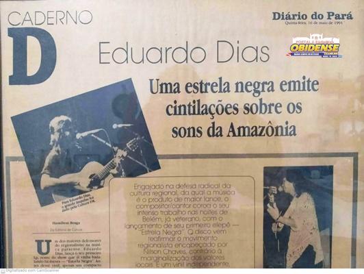 Matéria Diário do Pará 16/05/1991