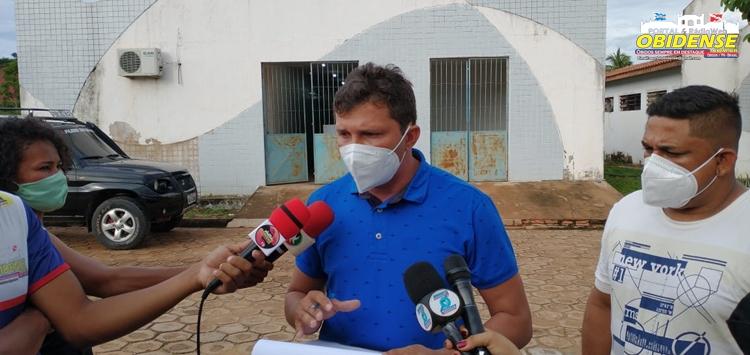 Visita hospital municipal Benedito Priante