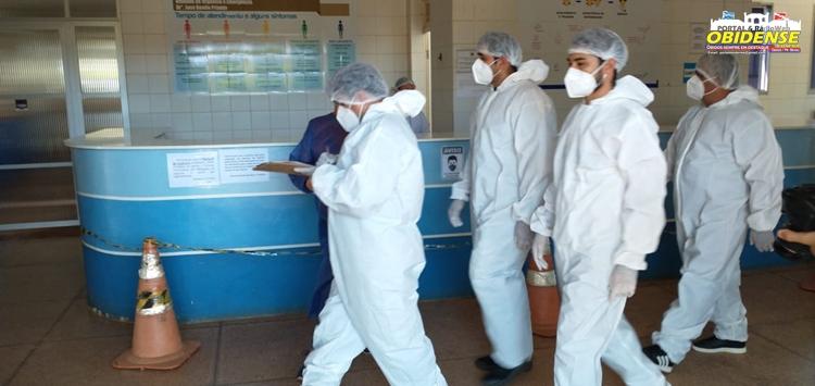Vereadores visitam o Hospital municipal de Óbidos