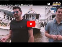 Dupla Álvaro e Daniel que fazem sucesso cantando Louvor Sertanejo gravam clipe musical tendo Óbidos como cenário