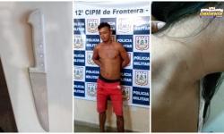 Polícia prende suspeito que confessou ter roubado por que estava embriagado