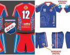 Diretores do Obidense FC e AMAO Máster apresentam uniformes para o jogo no estádio do SESI | Portal Obidense