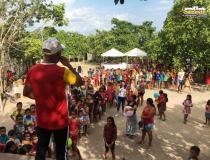 Centenas de crianças foram atendidas em mais uma edição do projeto Vestindo Sorrisos   Portal Obidense