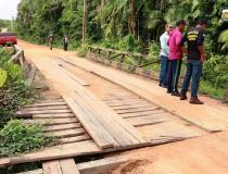 """Pontes do """"Curuçambá"""", serão substituídas por pontes de concreto   Portal Obidense"""
