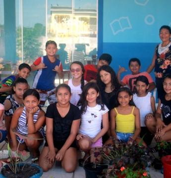 Alunos participam de projeto Jardinagem e Arborização na escola Dom Floriano   Portal Obidense