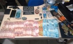 Prisão em Óbidos – Dupla presa com drogas, joias, celulares, arma de fogo e mais de 5 mil reais | Portal Obidense