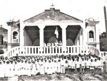 Turma de Primeira Eucaristia em Óbidos na década de 1930   Portal Obidense