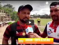 Começou em Óbidos a Copa Oliveira, veja matéria com Renildo Andrade   Portal Obidense