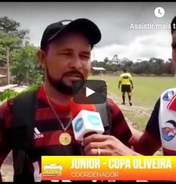 Começou em Óbidos a Copa Oliveira, veja matéria com Renildo Andrade | Portal Obidense