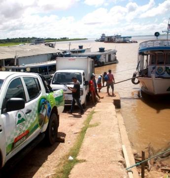 SEMMA apreende barco com aproximadamente 15t de pescado protegido pelo defeso   Portal Obidense