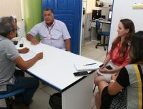 Prefeito assina ordem de serviço para elaboração do projeto de execução da orla de Óbidos   Portal Obidense