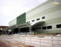 Cerimônia marca conclusão da primeira parte do hospital Dom Floriano e entrega de equipamentos | Portal Obidense