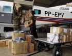 Equipamentos de proteção são transportados para Santarém | Portal Obidense