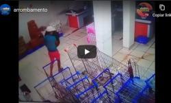 Ladrão usa mascara contra o covid-19 para arrombar supermercado | Portal Obidense