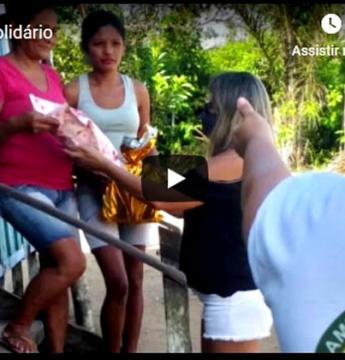 Grupo Amigos Solidários realiza ação no dia das mães na comunidade Cipoal em Óbidos | Portal Obidense