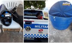 Homem acusado de invadir terreno de emissora de TV em Óbidos é preso | Portal Obidense