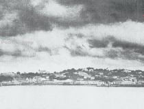 Memória - Óbidos vista do rio Amazonas em 1936 | Portal Obidense