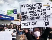 Manifestação composta por maioria jovem faz caminhada em uma importante avenida de Manaus | Portal Obidense