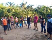 Comunidade Igarapé Açú ameaça encerrar barreira por falta de segurança dos voluntários | Portal Obidense