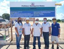 Espaço esportivo da praça da cultura será revitalizado   Portal Obidense
