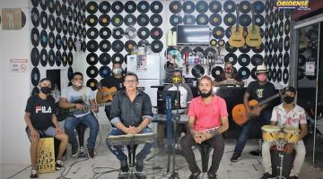 Roda Sertaneja de Aldo Lima e amigos em live através do Portal Obidense