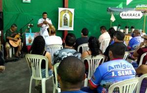 Em Manaus, obidenses se reúnem na oficina J Sena para celebrar senhora Sant´Ana   Portal Obidense