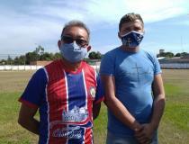 Ponta pé inicial para reforma do estádio Ary Ferreira   Portal Obidense