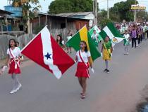 Secretária de educação da cidade de Prainha envia fotos para lembrar o 7 de setembro   Portal Óbidos
