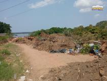 Buracão da AABB, também é deposito de lixo e entulho   Portal Obidense