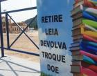 Geladeira literária sofre com vandalismo | Portal Obidense